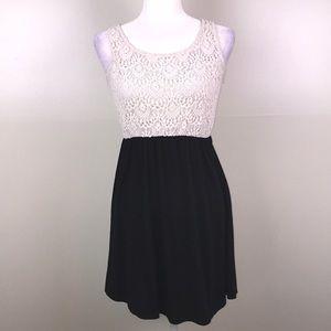 SPEECHLESS Lace Top Button Back Summer Dress